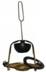 Колонка БС-50 комбинированная (скоба биметалл, седло латунь, шток-петля)